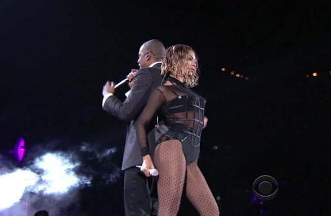 Jay Z and Beyonce 2014 Grammy