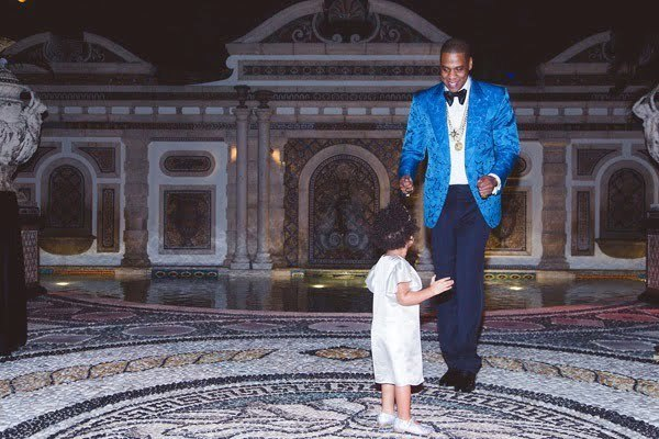 Jay Z and Blue Ivy 2014