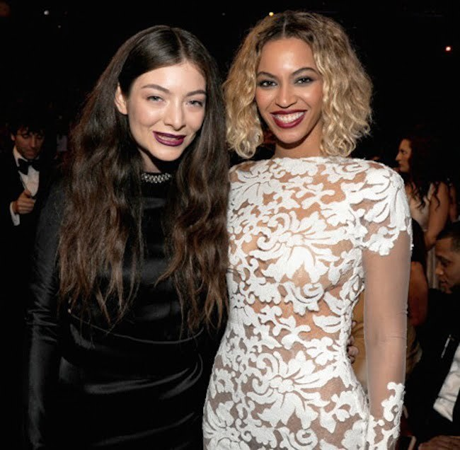Lorde and Beyonce