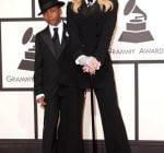 Madonna and Son David Banda Grammy 2014