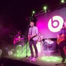 Matthew Schuler performing in Jamaica