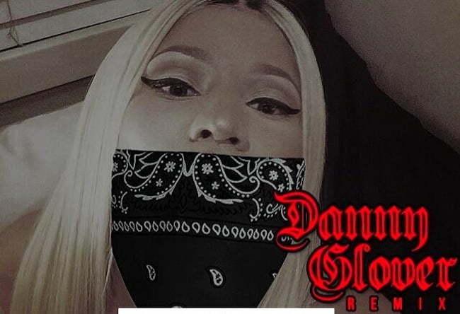 Nicki Minaj Danny glover