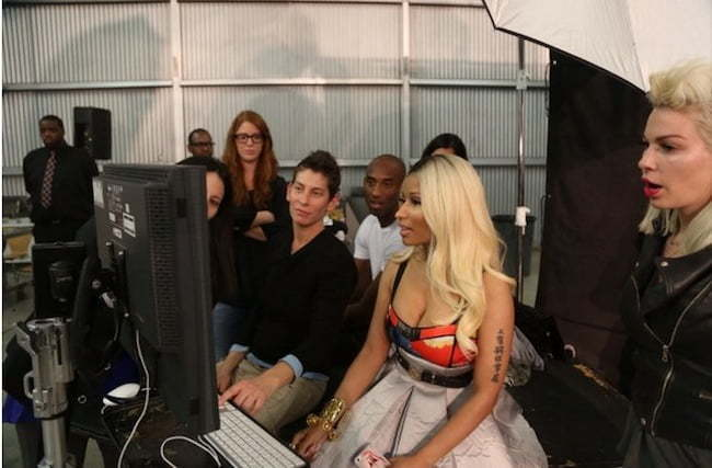 Nicki Minaj ESPN photo shoot 1
