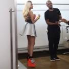 Nicki Minaj ESPN photo shoot