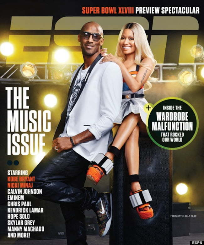 Nicki Minaj Kobe Bryant ESPN magazine
