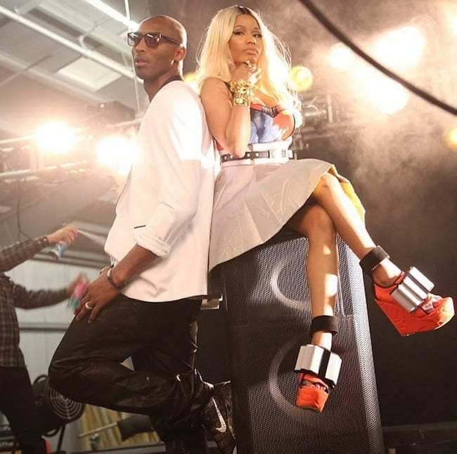 Nicki Minaj and Kobe Bryant ESPN