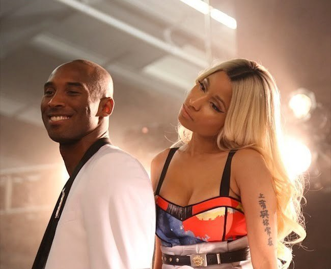 Nicki Minaj and Kobe Bryant photo