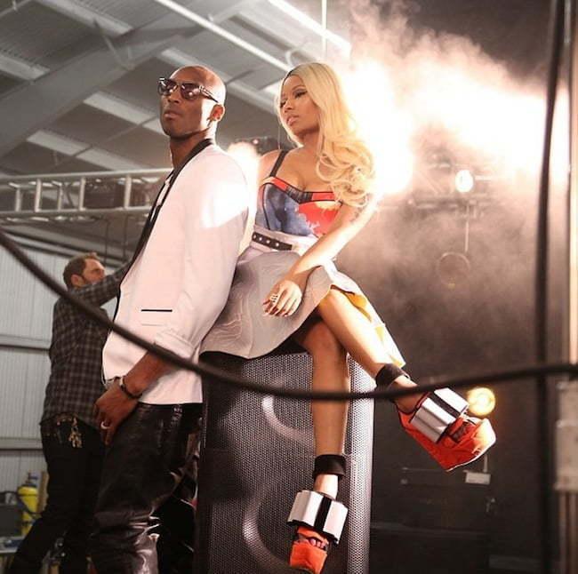 Nicki Minaj and Kobe