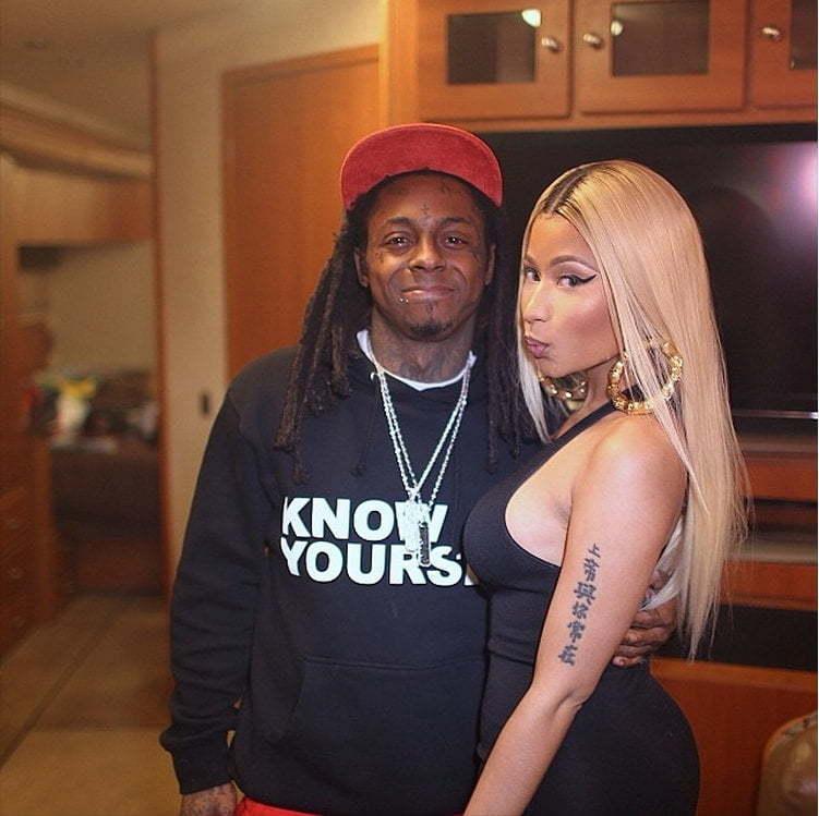 Nicki Minaj and Lil Wayne 2014 pic