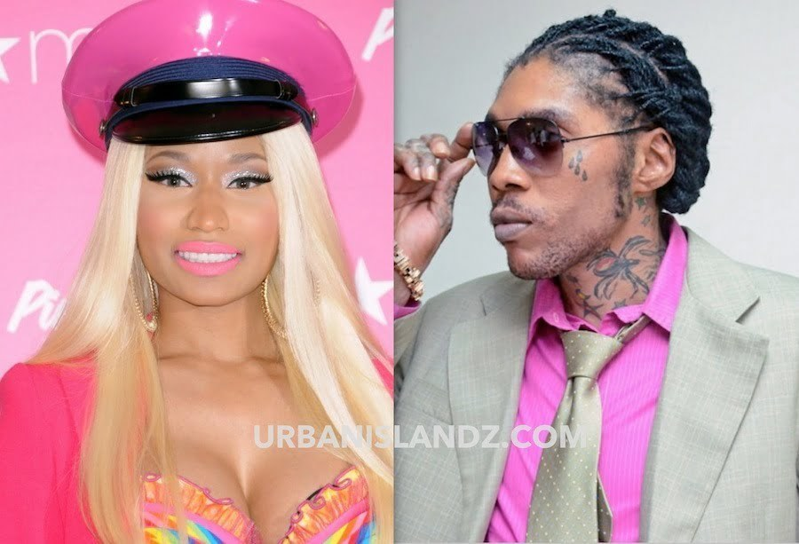 Nicki Minaj and Vybz Kartel 2014