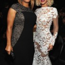 Queen Latifa and Beyonce