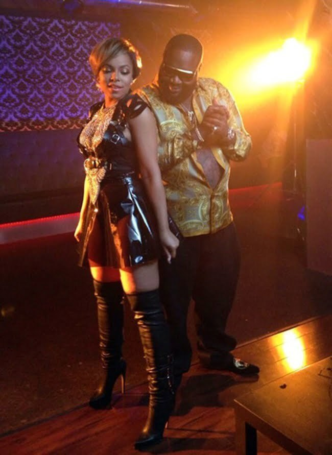 Rick Ross and Ashanti