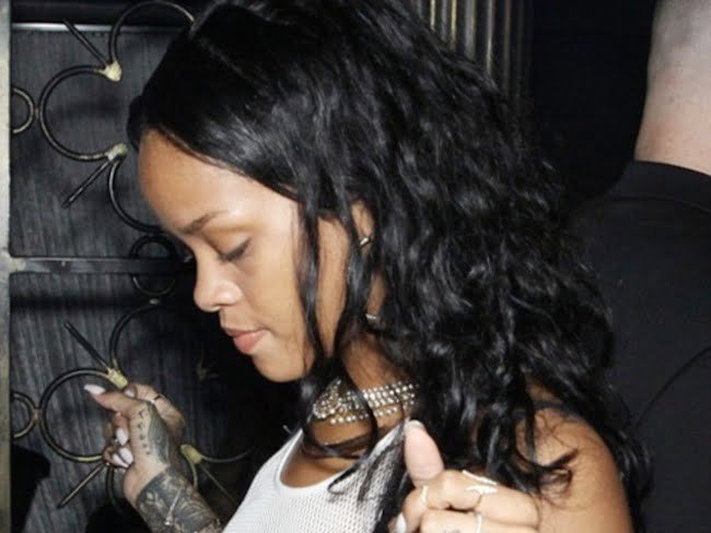 Rihanna And Karrueche Tran Attend Same Grammy After-Party [PHOTO]