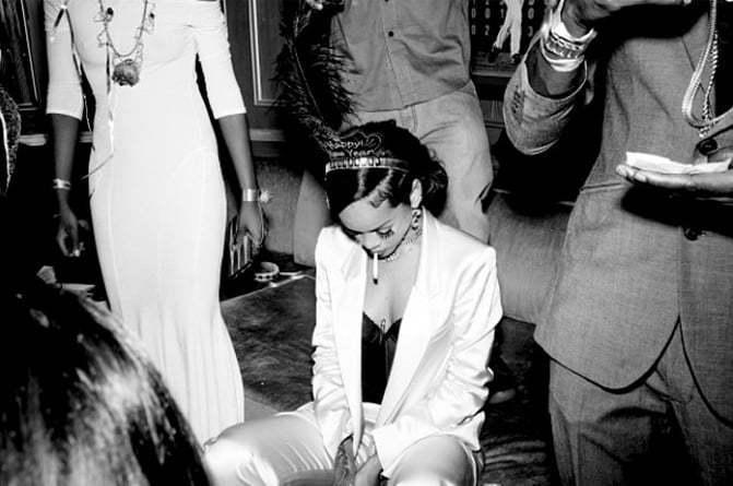 Rihanna New Years Party 1