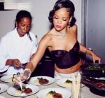 Rihanna New Years Party 11
