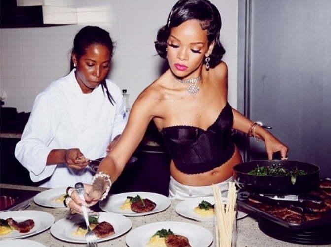 Rihanna New Years Party 11