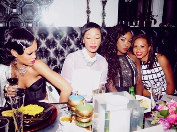 Rihanna New Years Party 7