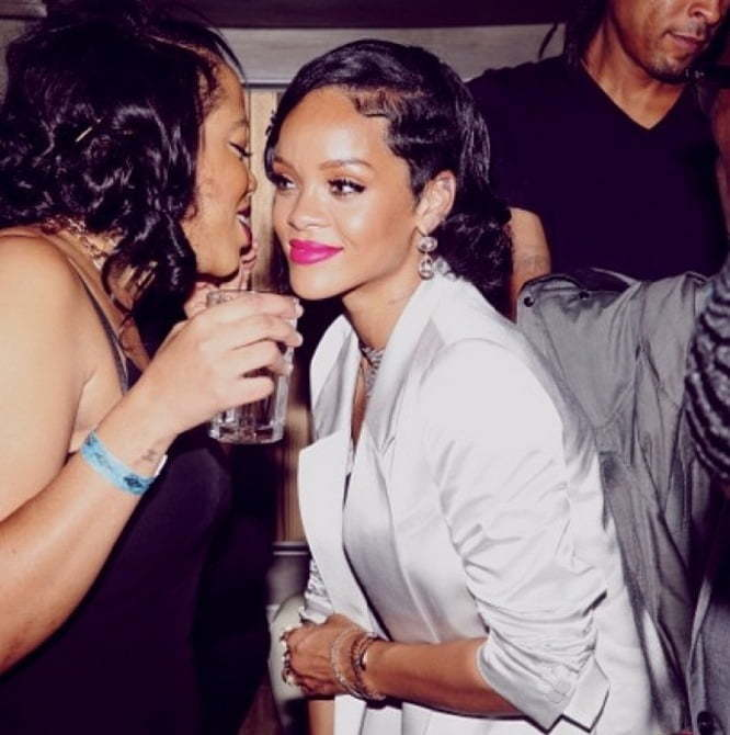 Rihanna New Years Party