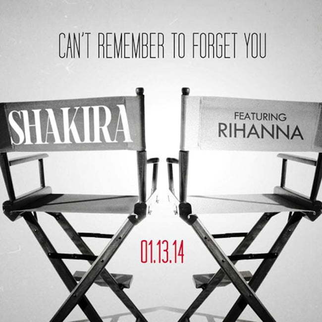 Rihanna Shakira cant remember cover