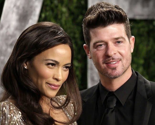 Robin Thicke And Wife Paula Patton Getting A Divorce