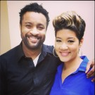 Shaggy and Tessanne Chin