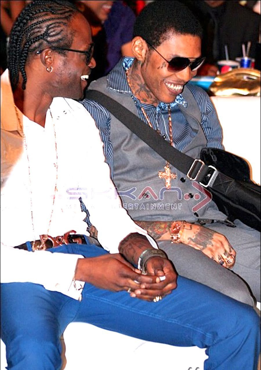Shawn Storm and Vybz Kartel