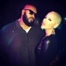 Suge Knight and Amber Rose
