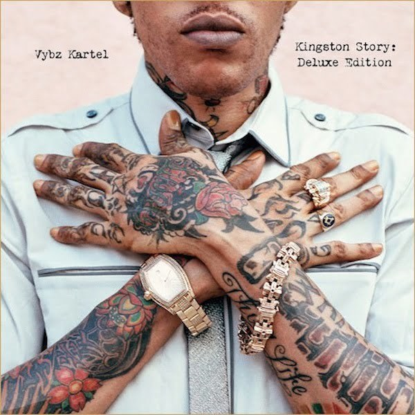 Vybz Kartel tattoos 2014