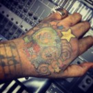 Demarco hand tattoo