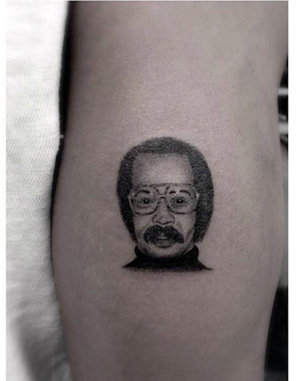 Drake dad tattoo