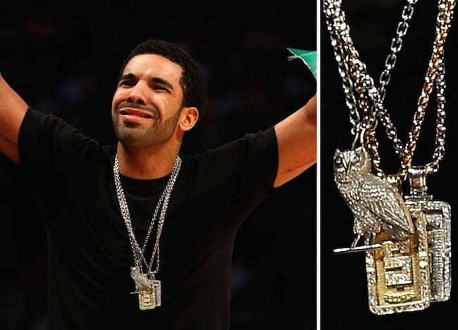 Drake owl pendant
