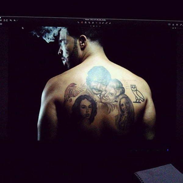Drake tattoos