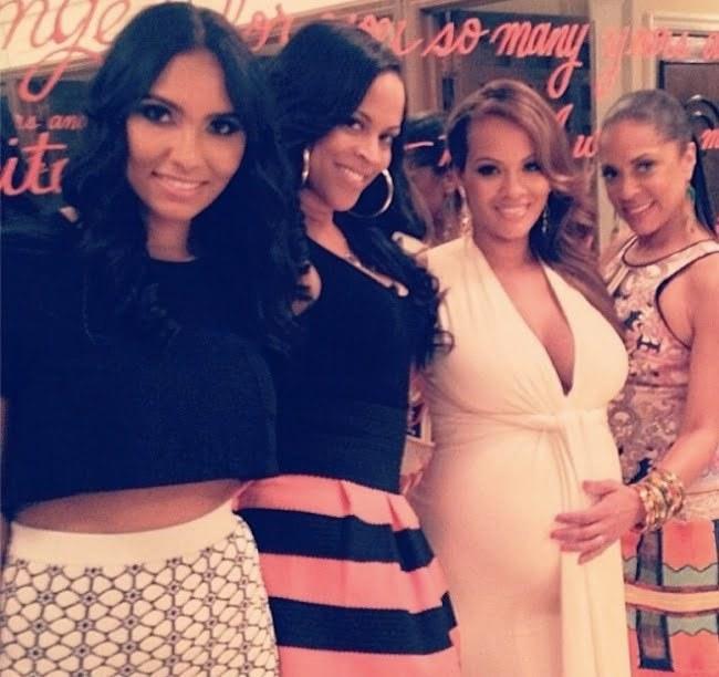 Evelyn Lozada baby shower 2