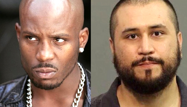 George Zimmerman and DMX fight