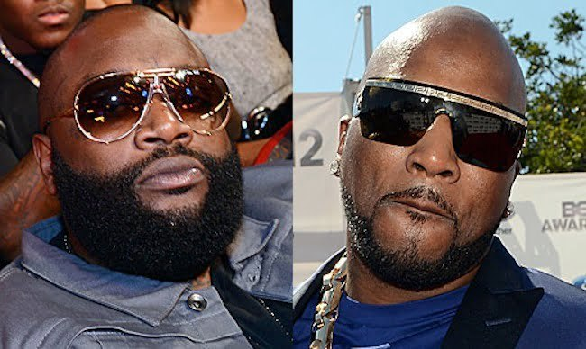 Jeezy and Rick Ross