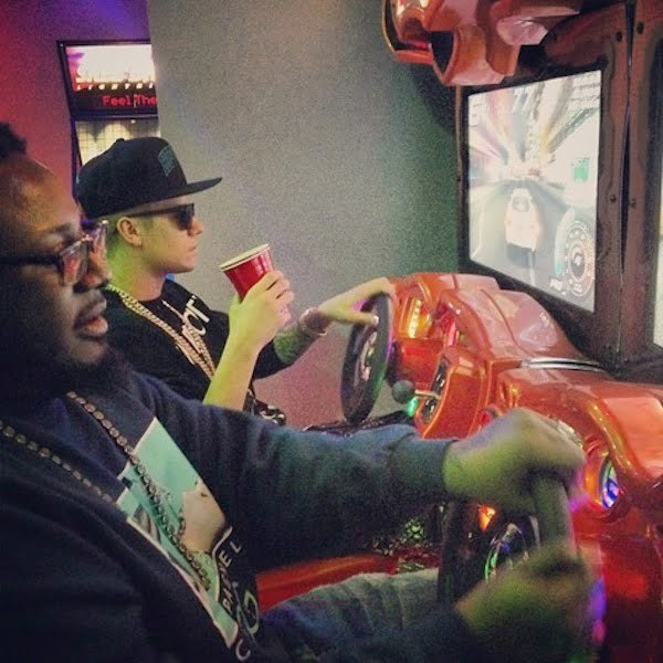 Justin Bieber T-Pain game