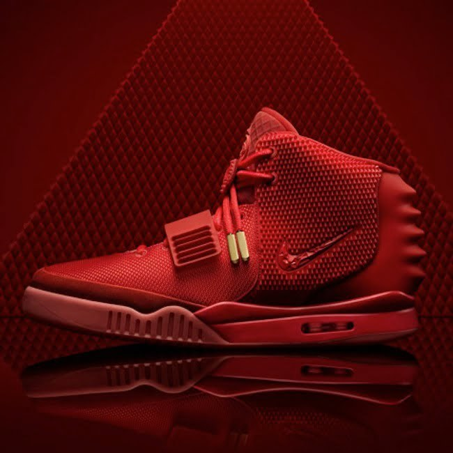 Kanye West Nike Air Yeezy II Red