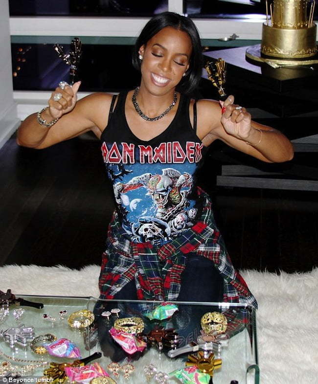 Kelly Rowland 33 birthday