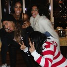 Kelly Rowland Beyonce and Solange Knowles