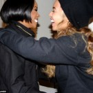 Kelly Rowland and Beyonce pic