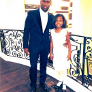 Kevin Hart and his daughter