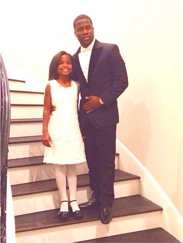 Kevin Hart daughter