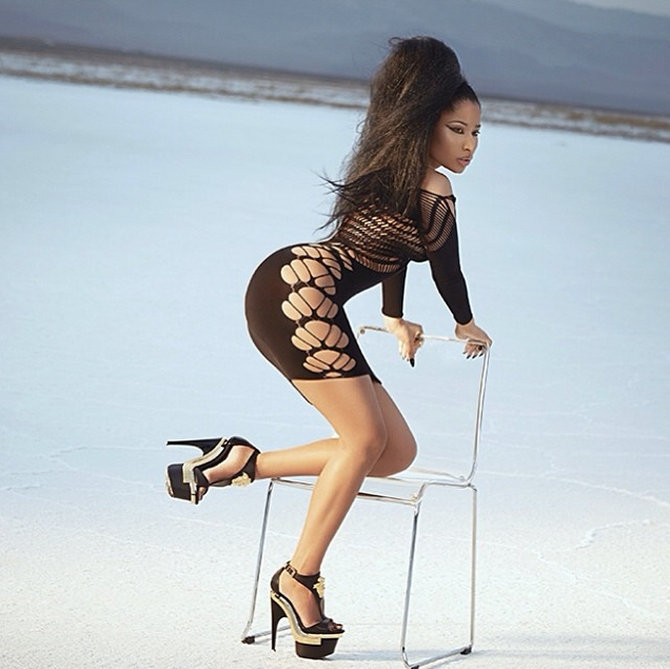 Nicki Minaj BTS photo 2014 3
