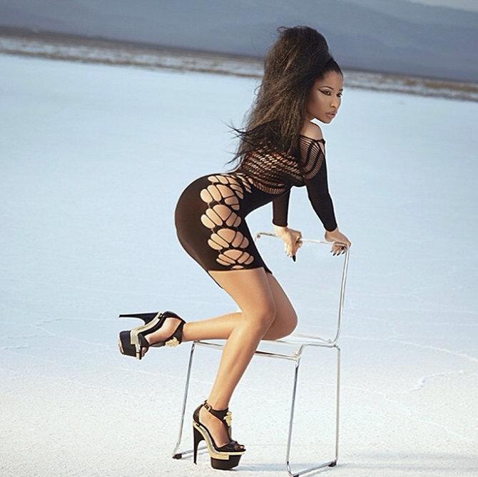 Nicki Minaj BTS photo 2014 3