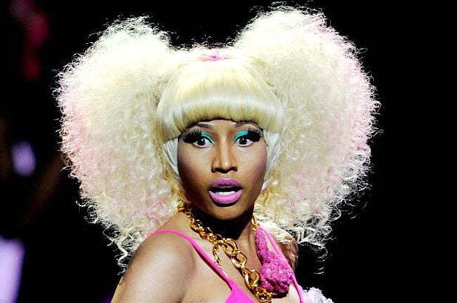 Nicki Minaj hair