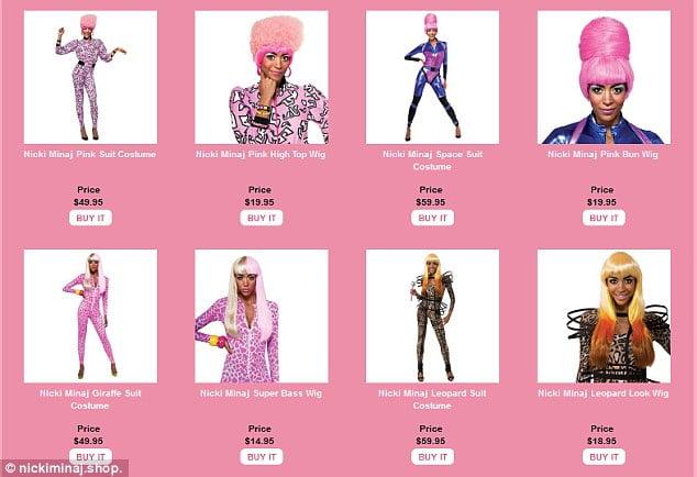 Nicki Minaj wig shop