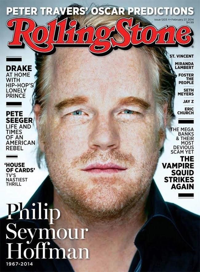 Philip Seymour Hoffman rolling stone