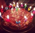 Rihanna birthday cake 2014