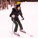 Rihanna skiing 1