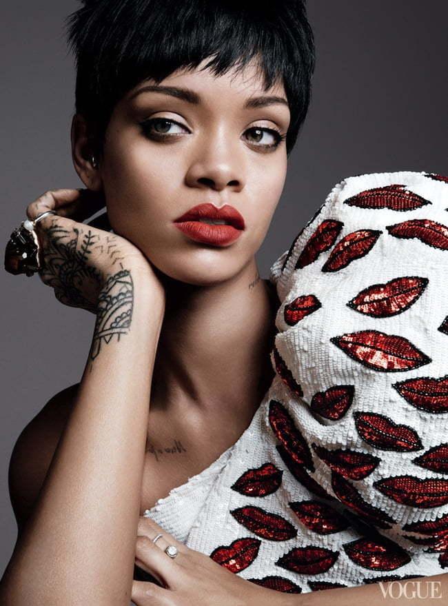 Rihanna vogue 2014 1